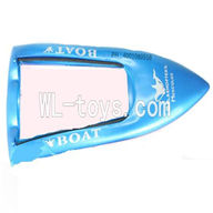 Double Horse 7002 Boat DH 7002 parts-03 Lower body boat cover-Blue (Free shipping worldwide By EMS)