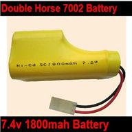 Double Horse 7002 Boat DH 7002 parts-05 Upgrade 7.2v 3300mah Battery