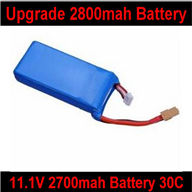 Wltoys V303 Quadcopter parts ,Wl toys V303 Parts-18 Upgrade battery( 11.1v 2800mah 30c)