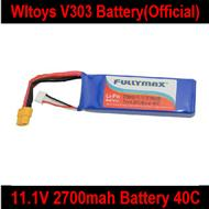 Wltoys V303 Quadcopter parts ,Wl toys V303 Battery wholesale-11.1V 2700mAH battery 40C