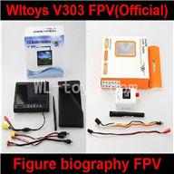 Wltoys V303 Quadcopter parts ,WL toys V303 Upgrade Figure biography FPV(Official)