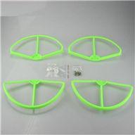Wltoys V303 Quadcopter parts ,Upgrade Wl toys V303 Parts 1 unit wholesale-Green