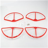 Wltoys V303 Quadcopter parts ,Upgrade Wl toys V303 Parts unit 1 wholesale-Red
