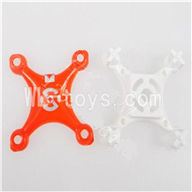 SanLianHuan SH CX-10 Quadcopter parts-02 Upper head cover & Lower frame cover-Red