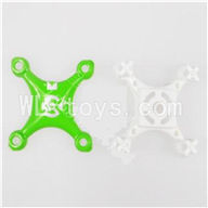 SanLianHuan SH CX-10 Quadcopter parts-04 Upper head cover & Lower frame cover-Green