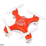 SanLianHuan CX-10 Quadcopter parts ,SH CX-10 parts-22 BNF-Red(Only Quadcopter,No battery,No transmitter,No charge)