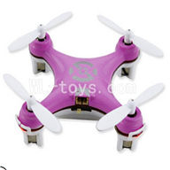 SanLianHuan CX-10 Quadcopter parts ,SH CX-10 parts-23 BNF-Purple(Only Quadcopter,No battery,No transmitter,No charge)