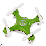 SanLianHuan CX-10 Quadcopter parts ,SH CX-10 parts-24 BNF-Green(Only Quadcopter,No battery,No transmitter,No charge)