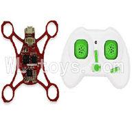 SanLianHuan CX-11 Quadcopter parts, SH CX-11 parts-02 Circuit board & Transmitter