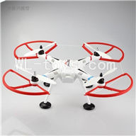 SH CX-20 Quadcopter Parts ,SanLianHuan CX-20 Parts-46 Upgrade BNF(Only Quadcopter,No battery,No transmitter,No charger,No Camera,NO PTZ)-Red frame and white blades