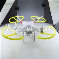Cheerson CX-20 Parts-49 Upgrade BNF(Only Quadcopter,No battery,No transmitter,No charger,No Camera,NO PTZ)-Yellow frame and white blades,Cheerson CX-20 RC Drone Quadcopter Spare parts,CX-20 Aircraft accessories