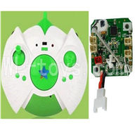SH CX-30 Quadcopter Parts ,SanHuan CX-30 Parts-07 Circuit board & Transmitter-Green