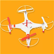 SH CX-30 Quadcopter Parts ,SanHuan CX-30 Parts-28 BNF-Red Only Quadcopter,No battery,No transmitter,No charge)