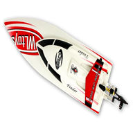 WLtoys WL911 RC Boat , WL 911 Boat parts-22 BNF(Only boat,no battery,no charger,no Transmitter)-White