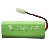 Double Horse 7007 Boat Parts ,DH 7007 Parts-05 7.2v 3300mah NI-MH Battery battery(Can use for 7002 7003 7004 7007)