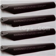 Attop toys YD-215 RC helicopter parts-04 Lower main rotor blades(4pcs)