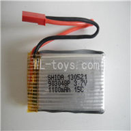 Attop toys YD-215 RC helicopter parts-06 Original 3.7v 1100mah battery