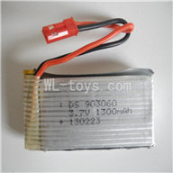Attop toys YD-215 RC helicopter parts--07 Upgrade 3.7v 1300mah battery,Fly more time