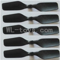 Skytech M19 RC Helicopter parts-12 Tail blade(5pcs)