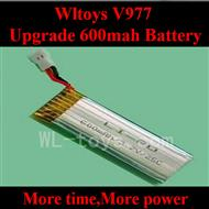 Upgrade WLtoys V977 RC Helicopter parts, WL toys V977 600mah Battery 3.7V-25C Li-Poli Battery