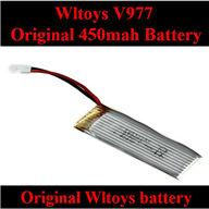 Original WLtoys V977 RC Helicopter parts, WL toys V977 Battery-3.7V 450MAH 25C Li-Poli Battery