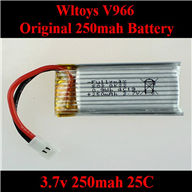 WLtoys V966 RC helicopter parts ,Upgrade WL toys V966 Helicopter Battery-3.7V 380MAH Battery 25C Li-Poli