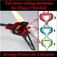 WLtoys V966 RC helicopter parts ,Upgrade WL toys V966 Tail motor cooling aluminum