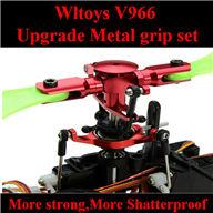 WLtoys V966 RC helicopter parts , WL toys V966 Upgrade Metal grip set