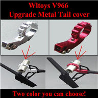 WLtoys V966 RC helicopter parts ,WL toys V966 Upgrade Metal Tail cover