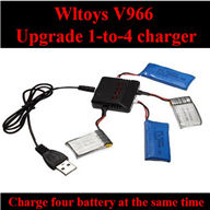 WLtoys V966 RC helicopter parts ,WL toys V966 Upgrade 1-to-4 charger wholesale