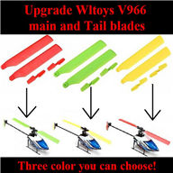 WL toys V966 RC helicopter parts ,Upgrade WLtoys V966 main and Tail blades