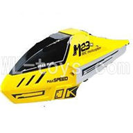 Skytech M23 RC Helicopter Parts-01 Head cover,Cannopy,shell-Yellow