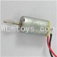 Skytech M23 RC Helicopter Parts-18 Main motor B with long shaft and gear