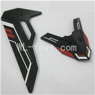 Skytech M23 RC Helicopter Parts-27 Tail decration