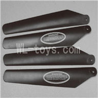 Skytech M36 RC Helicopter Parts-03 Main blades(4pcs-2A+2B)