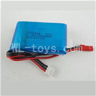 Skytech M36 RC Helicopter Parts-07 Upgrade 7.4v 1000mah battery,Fly more time