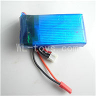 Skytech M36 RC Helicopter Parts-08 Upgrade 7.4v 1500mah battery,Fly more time