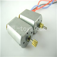 Skytech M36 RC Helicopter Parts-22 Main motor with long shaft and gear & Main motor with short shaft and gear