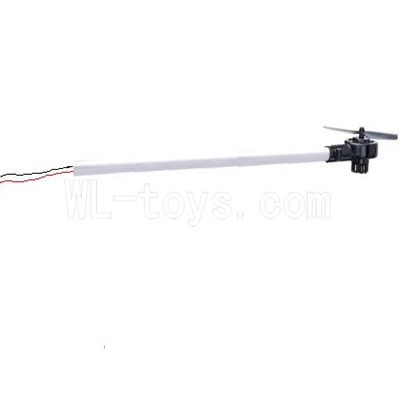 Skytech M36 RC Helicopter Parts-32 Whole tail unit B(Long tail pipe & Tail cover with tail gear and tail motor)