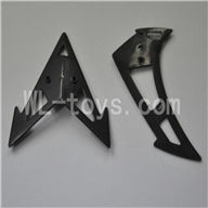 Skytech M36 RC Helicopter Parts-33 Tail decoration