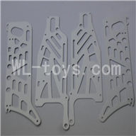 Skytech M36 RC Helicopter Parts-36 Side board pack(4pcs)