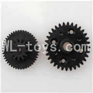 WLtoys L959 Parts-Rear gear box Reducers,Speed Reduction Gear,WLtoys L959 RC Car Parts,1/12 RC Racing car buggy spare parts