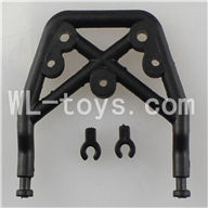 WLtoys L959 Parts-Front Baseplate Fixure Seat,WLtoys L959 RC Car Parts,1/12 RC Racing car buggy spare parts
