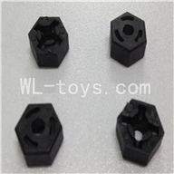 WLtoys L959 Parts-Hexagon Wheel Seat(4pcs),WLtoys L959 RC Car Parts,1/12 RC Racing car buggy spare parts