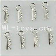 WLtoys L959 Parts-R-Clips,Shell Pin(8pcs),WLtoys L959 RC Car Parts,1/12 RC Racing car buggy spare parts