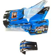 WLtoys L959 Parts-Body Shell Cover,Car Canopy,Car shell-Blue,WLtoys L959 RC Car Parts,1/12 RC Racing car buggy spare parts