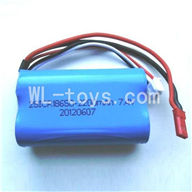 WLtoys L959 Parts-Upgrade Battery Packs,Upgrade 7.4V 2200mAh Battery with JST Plug(Be used for L959),WLtoys L959 RC Car Parts,1/12 RC Racing car buggy spare parts