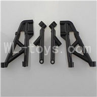 WLtoys L969 L212 parts-Rear Shock Absorption Bracket for L959 L969