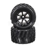 WLtoys L969 L212 parts-Front Tire(2pcs)