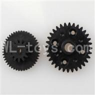 WLtoys L969 L212 parts-Rear gear box Reducers,Speed Reduction Gear
